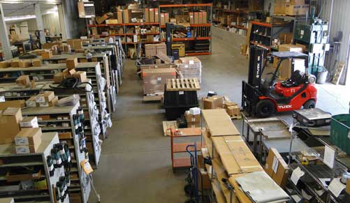 Find Parts for a Bus at Atlantic's Warehouse